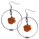 Siskiyou Buckle CHE69 Clemson Tigers 2 Inch Hoop Earrings