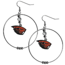 Siskiyou Buckle CHE72 Oregon St. Beavers 2 Inch Hoop Earrings