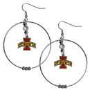 Siskiyou Buckle CHE83 Iowa St. Cyclones 2 Inch Hoop Earrings
