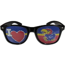 Siskiyou Buckle CHGD21B Kansas Jayhawks I Heart Game Day Shades