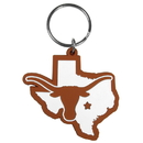 Siskiyou Buckle Texas Longhorns Home State Flexi Key Chain, CHPK22