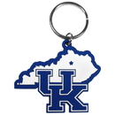 Siskiyou Buckle Kentucky Wildcats Home State Flexi Key Chain, CHPK35