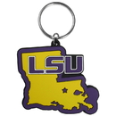 Siskiyou Buckle LSU Tigers Home State Flexi Key Chain, CHPK43