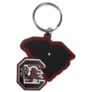 Siskiyou Buckle S. Carolina Gamecocks Home State Flexi Key Chain, CHPK63