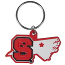 Siskiyou Buckle N. Carolina St. Wolfpack Home State Flexi Key Chain, CHPK79