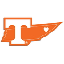 Siskiyou Buckle Tennessee Volunteers Home State Decal, CHSD25