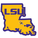 Siskiyou Buckle LSU Tigers Home State Decal, CHSD43