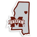 Siskiyou Buckle CHSD45 Mississippi St. Bulldogs Home State Decal