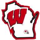 Siskiyou Buckle Wisconsin Badgers Home State Decal, CHSD51