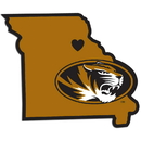 Siskiyou Buckle Missouri Tigers Home State Decal, CHSD67