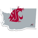 Siskiyou Buckle Washington St. Cougars Home State Decal, CHSD71