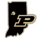 Siskiyou Buckle CHSD84 Purdue Boilermakers Home State Decal
