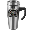 Siskiyou Buckle CHTM4F Florida Gators Steel Travel Mug w/Handle