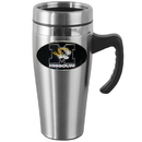 Siskiyou Buckle CHTM67 Missouri Tigers Steel Travel Mug w/Handle