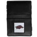 Siskiyou Buckle CJL12 Arkansas Razorbacks Leather Jacob's Ladder Wallet