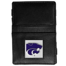 Siskiyou Buckle CJL15 Kansas St. Wildcats Leather Jacob's Ladder Wallet