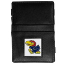 Siskiyou Buckle CJL21 Kansas Jayhawks Leather Jacob's Ladder Wallet