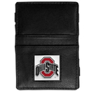 Siskiyou Buckle CJL38 Ohio St. Buckeyes Leather Jacob's Ladder Wallet