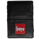 Siskiyou Buckle CJL3 Nebraska Cornhuskers Leather Jacob's Ladder Wallet