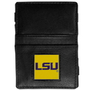 Siskiyou Buckle CJL43 LSU Tigers Leather Jacob's Ladder Wallet