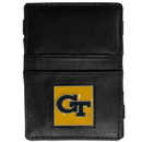 Siskiyou Buckle CJL44 Georgia Tech Yellow Jackets Leather Jacob's Ladder Wallet