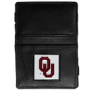 Siskiyou Buckle CJL48 Oklahoma Sooners Leather Jacob's Ladder Wallet