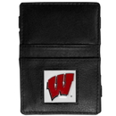 Siskiyou Buckle CJL51 Wisconsin Badgers Leather Jacob's Ladder Wallet