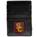 Siskiyou Buckle CJL53 USC Trojans Leather Jacob's Ladder Wallet