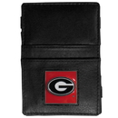 Siskiyou Buckle CJL5 Georgia Bulldogs Leather Jacob's Ladder Wallet