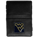 Siskiyou Buckle CJL60 W. Virginia Mountaineers Leather Jacob's Ladder Wallet