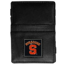 Siskiyou Buckle CJL62 Syracuse Orange Leather Jacob's Ladder Wallet