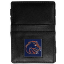 Siskiyou Buckle CJL73 Boise St. Broncos Leather Jacob's Ladder Wallet