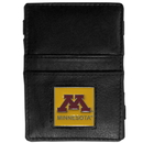 Siskiyou Buckle CJL77 Minnesota Golden Gophers Leather Jacob's Ladder Wallet