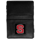 Siskiyou Buckle CJL79 N. Carolina Tar Heels Leather Jacob's Ladder Wallet