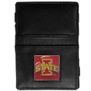 Siskiyou Buckle CJL83 Iowa St. Cyclones Leather Jacob's Ladder Wallet