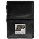 Siskiyou Buckle CJL84 Purdue Boilermakers Leather Jacob's Ladder Wallet