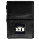 Siskiyou Buckle CJL86 BYU Cougars Leather Jacob's Ladder Wallet