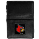 Siskiyou Buckle CJL88 Louisville Cardinals Leather Jacob's Ladder Wallet
