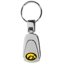Siskiyou Buckle Iowa Hawkeyes Steel Teardop Key Chain, CKP52