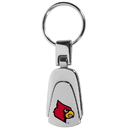 Siskiyou Buckle Louisville Cardinals Steel Teardop Key Chain, CKP88