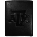 Siskiyou Buckle CLET26 Texas A & M Aggies Embossed Leather Tri-fold Wallet