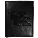 Siskiyou Buckle CLET35 Kentucky Wildcats Embossed Leather Tri-fold Wallet