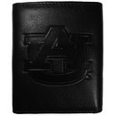Siskiyou Buckle CLET42 Auburn Tigers Embossed Leather Tri-fold Wallet
