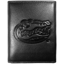 Siskiyou Buckle CLET4 Florida Gators Embossed Leather Tri-fold Wallet