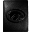 Siskiyou Buckle CLET52 Iowa Hawkeyes Embossed Leather Tri-fold Wallet