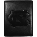 Siskiyou Buckle CLET9 N. Carolina Tar Heels Embossed Leather Tri-fold Wallet