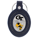 Siskiyou Buckle CLK44 College Keychain - Georgia Tech Yellow Jackets