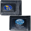 Siskiyou Buckle CLMC21 Kansas Jayhawks Leather Cash & Cardholder