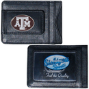 Siskiyou Buckle CLMC26 Texas A & M Aggies Leather Cash & Cardholder