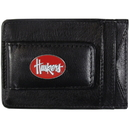 Siskiyou Buckle CLMC3 Nebraska Cornhuskers Leather Cash & Cardholder